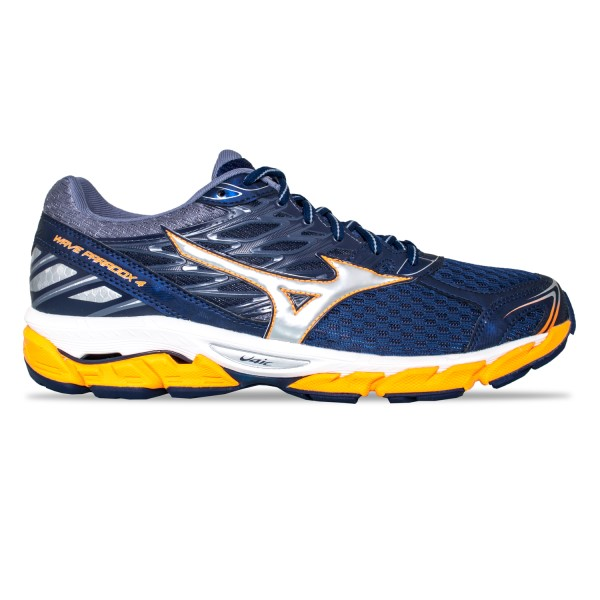 Mizuno Wave Paradox 4 (D) - Mens Running Shoes - Eclipse/Silver