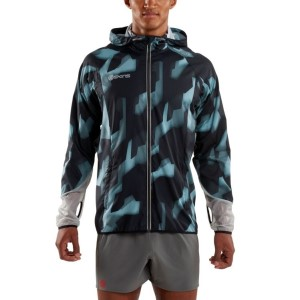 Skins Plus Gravity Packable Mens Running Jacket + Free Gym Bag