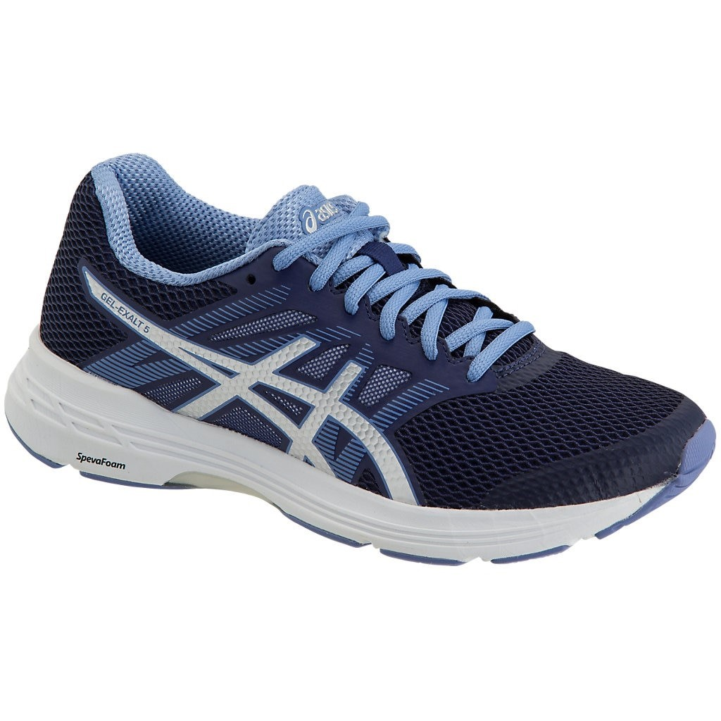 42285600bdfa07 Asics Gel Exalt 5 - Womens Running Shoes - Indigo Blue Silver ...