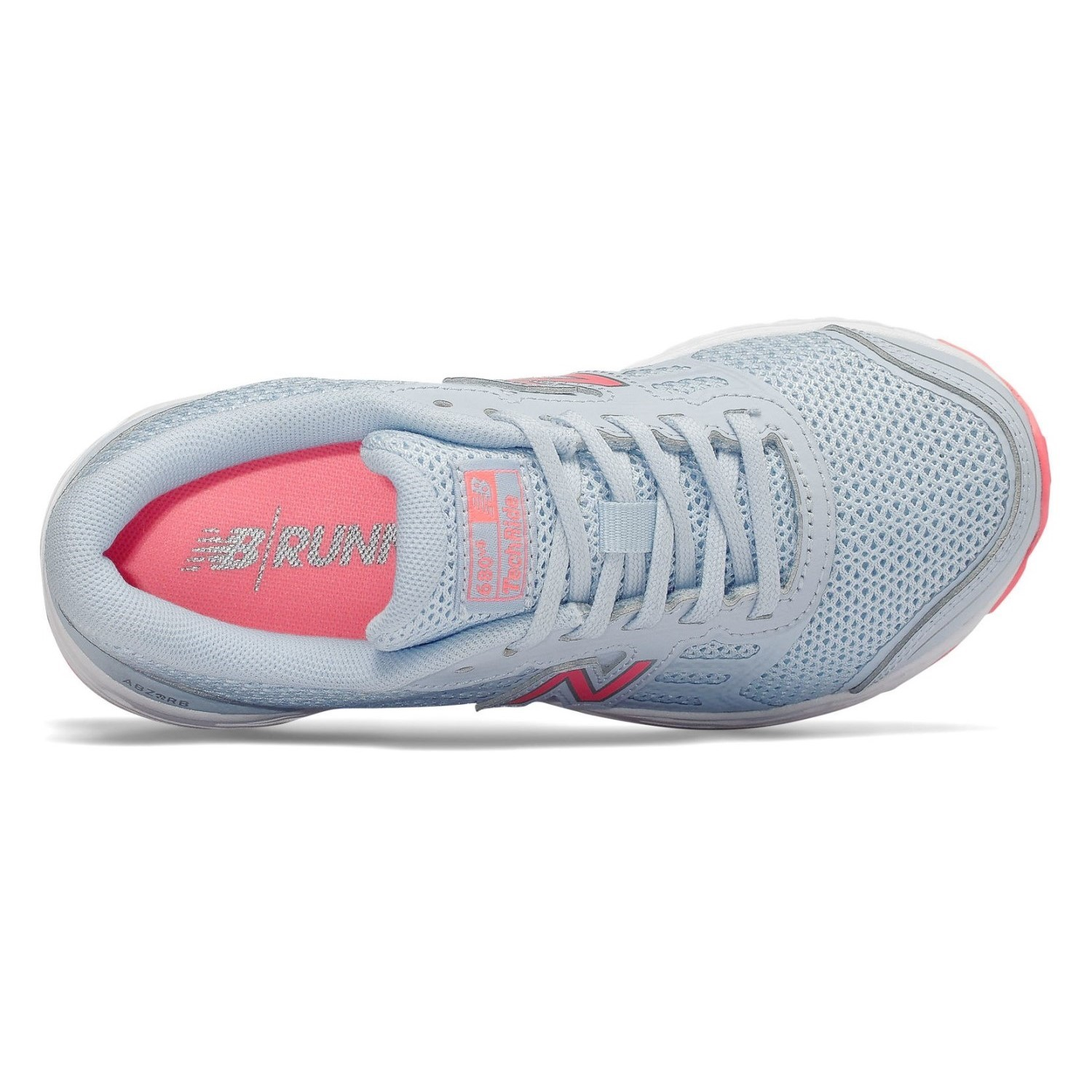 7d00d6e470f2 New Balance 680v5 - Kids Girls Running Shoes - Air Blue Guava ...