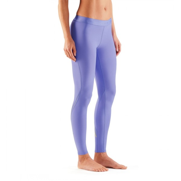 Skins DNAmic Womens Compression Long Tights - Violet