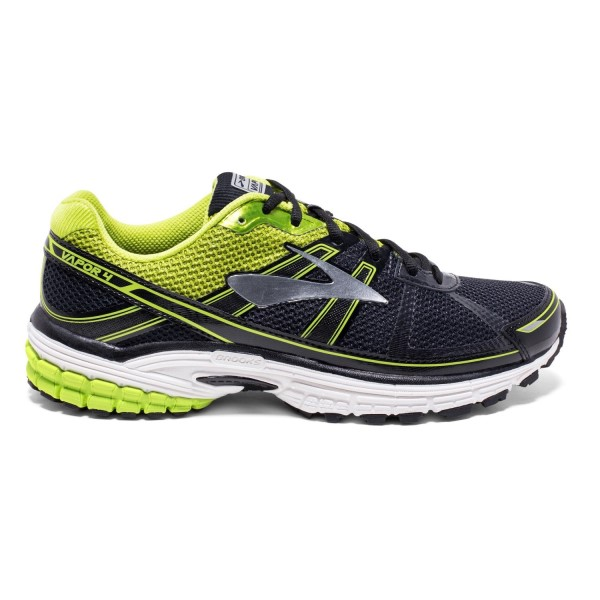 Brooks Vapor 4 - Mens Running Shoes - Anthracite/Lime/Silver