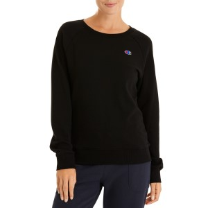 Champion Logo Crew Womens Casual Sweatshirt
