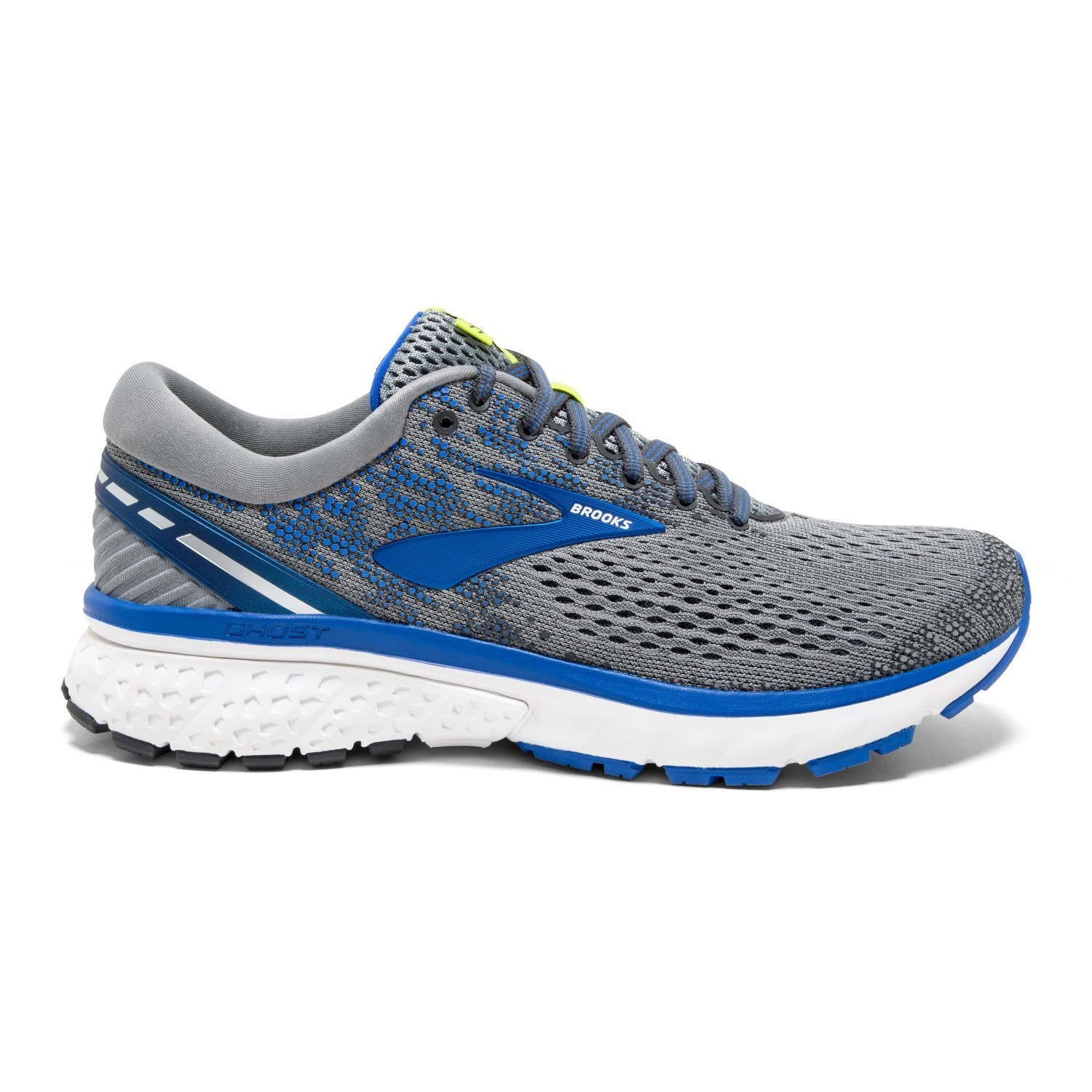 2ddf29127dc4c Brooks Ghost 11 - Mens Running Shoes - Grey Blue Silver