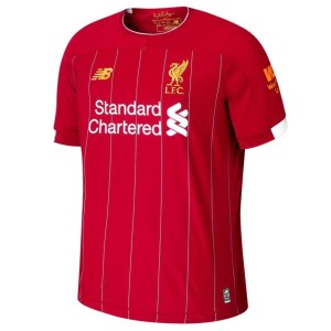 New Balance Liverpool FC Home 19/20 Mens Short Sleeve Soccer Jersey