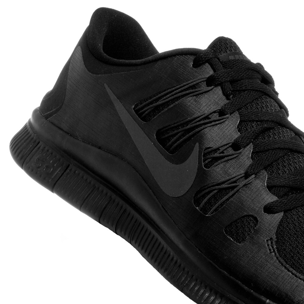 black nike free run 5.0 mens