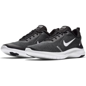 963bd31f831 ... Nike Flex Experience RN 8 - Mens Running Shoes - Black White Cool Grey  ...