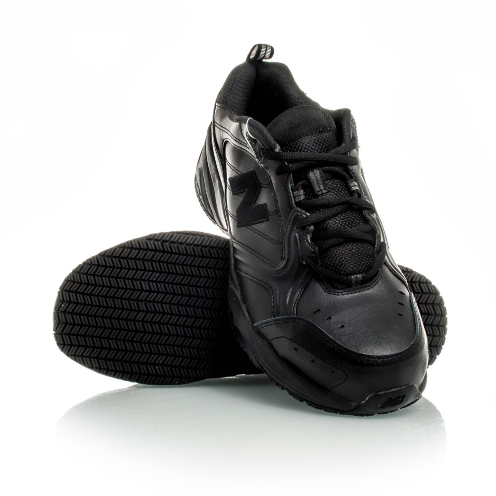 New Balance Steel Toe 627 Mens Work Shoes Black Online