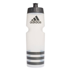 Adidas Perf BPA Free Water Bottle - 750ml - Transparent/Carbon