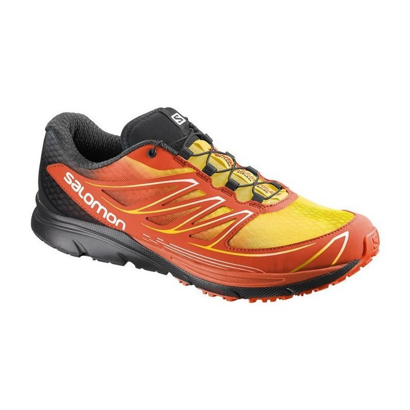 7547c244a098 Salomon Sense Mantra 3 - Mens Trail Running Shoes - Tomato Reed Bee Yellow