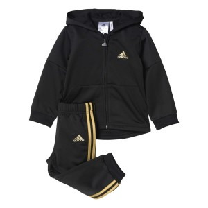 Adidas Shiny Style Kids Boys Training Jogger Set
