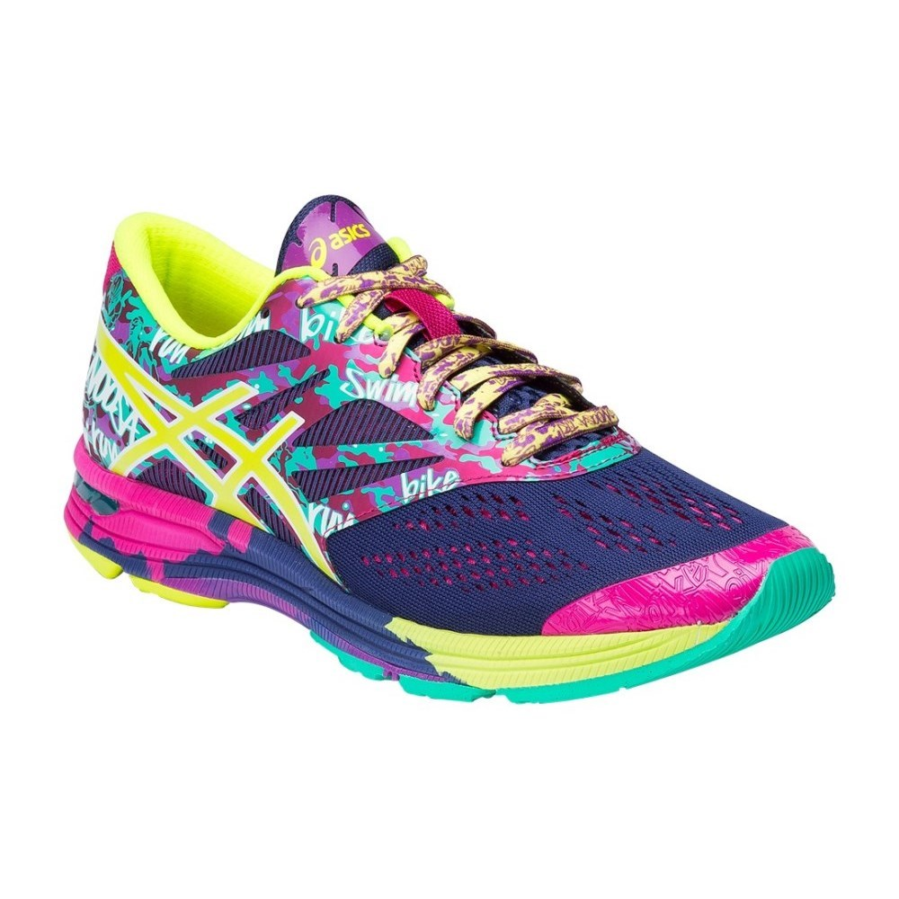Asics Gel Noosa Tri 10 - Womens Running Shoes - Navy/Flash