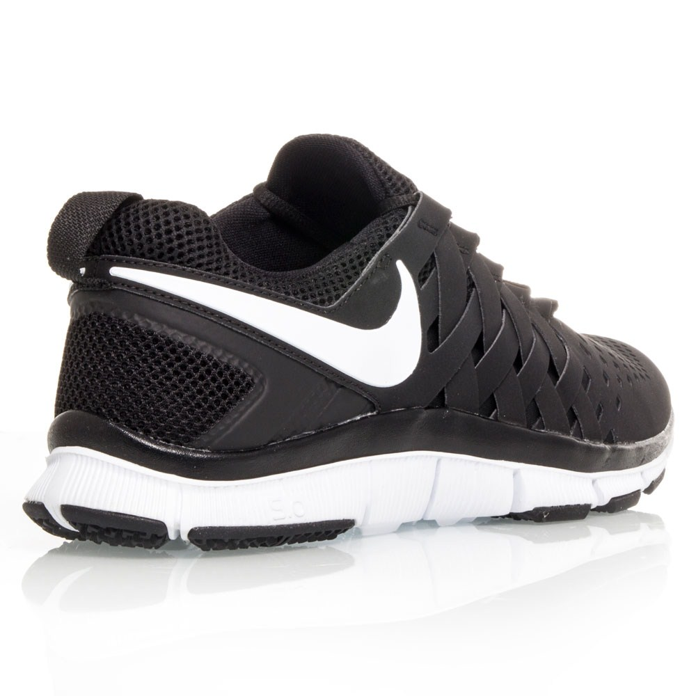 Nike Free Trainer 5.0 - Mens Training Shoes - Black/White