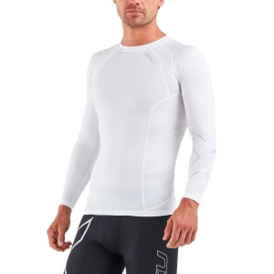 2XU Mens Compression Long Sleeve Top
