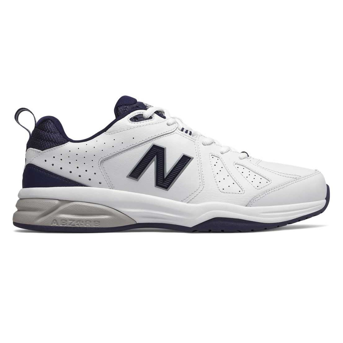 competitive price 3ca82 20e57 New Balance 624v5 - Mens Cross Training Shoes - White Navy