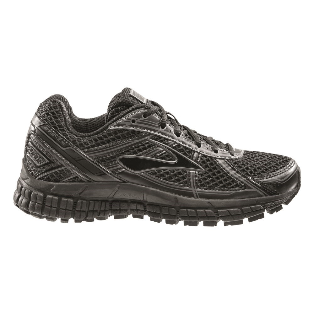 ae9f46a391a Brooks Adrenaline GTS 15 - Kids Boys Running Shoes - Black Anthracite