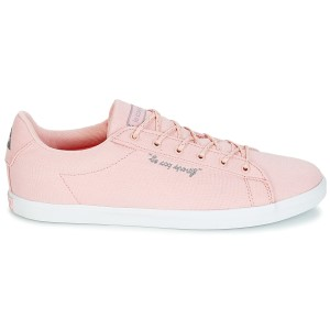 Le Coq Sportif Agate Lo Canvas/Metallic - Womens Casual Shoes