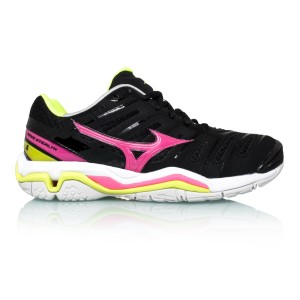 Mizuno Wave Stealth 4 - Womens Netball Shoes + Free Netball