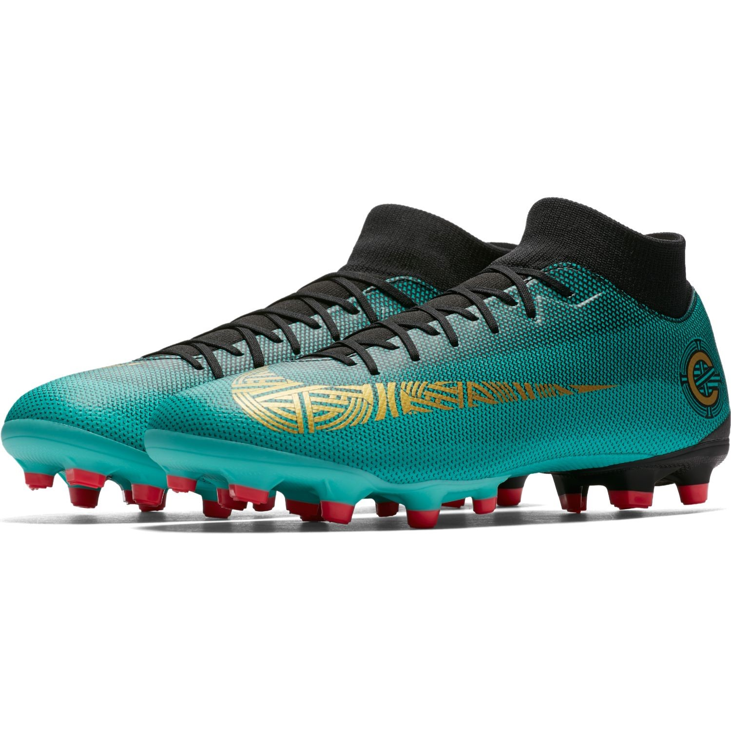 a231f6a626b9 Nike Mercurial Superfly VI Academy CR7 MG - Mens Football Boots - Clear Jade  Metallic