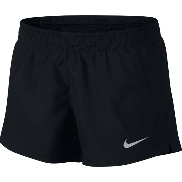 Nike 10K 3.5 Inch Womens Running Shorts - Black/Wolf Grey