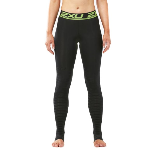 2XU Power Recovery Womens Compression Tights - Black/Nero