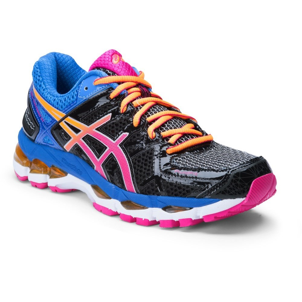 asics gel kayano 21 womens running shoes black raspberry blue online sportitude. Black Bedroom Furniture Sets. Home Design Ideas