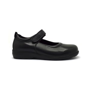 Sfida Ava 2 - Junior Girls Leather School Shoes