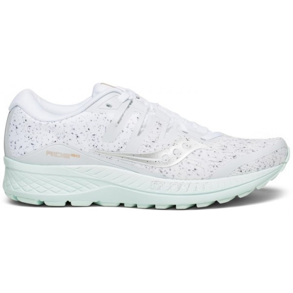Saucony Ride ISO - Womens Running Shoes - White Noise
