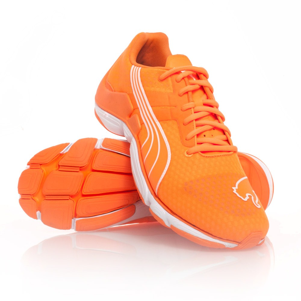 Puma Mobium Elite Glow - Mens Running Shoes - Fluro Orange ...