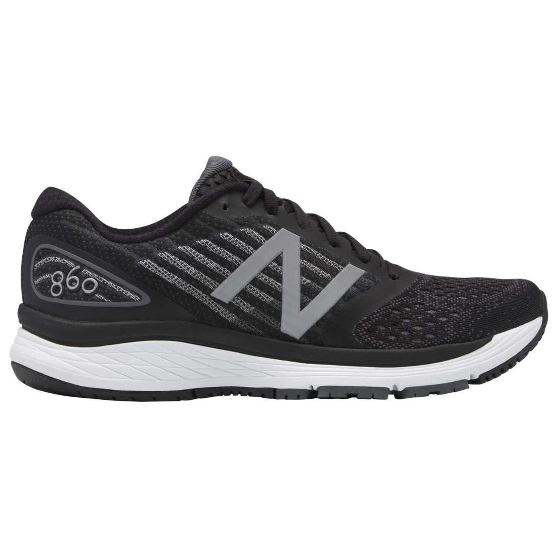 online store bd85e 420ff New Balance 860v9 - Womens Running Shoes - Black Dark Grey