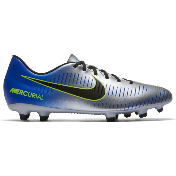Nike Mercurial Vortex III Neymar Jr FG - Mens Football Boots - Racer Blue/Black-Chrome-Volt