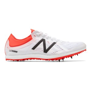 New Balance LD 5000v5 - Womens Long Distance Track Spikes - White
