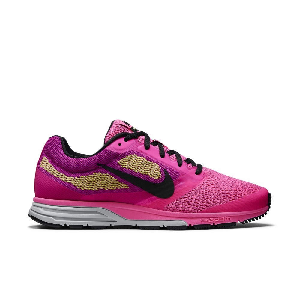 05ac0a3c27ea Nike Air Zoom Fly 2 - Womens Running Shoes - Pink Pow Black Fuchsia ...