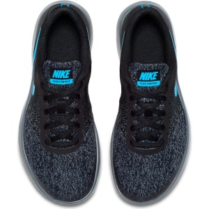 b6828ec7f94f ... Nike Flex Contact GS - Kids Boys Running Shoes - Black Neo Turquoise  Dark ...