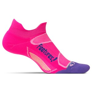 Feetures Elite Light Cushion No Show Tab - Womens Running Socks