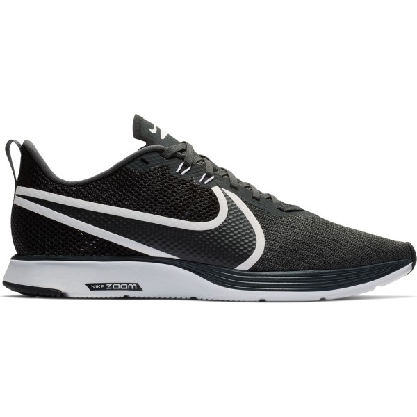 Nike Zoom Strike 2 - Mens Running Shoes - Anthracite/Black/White