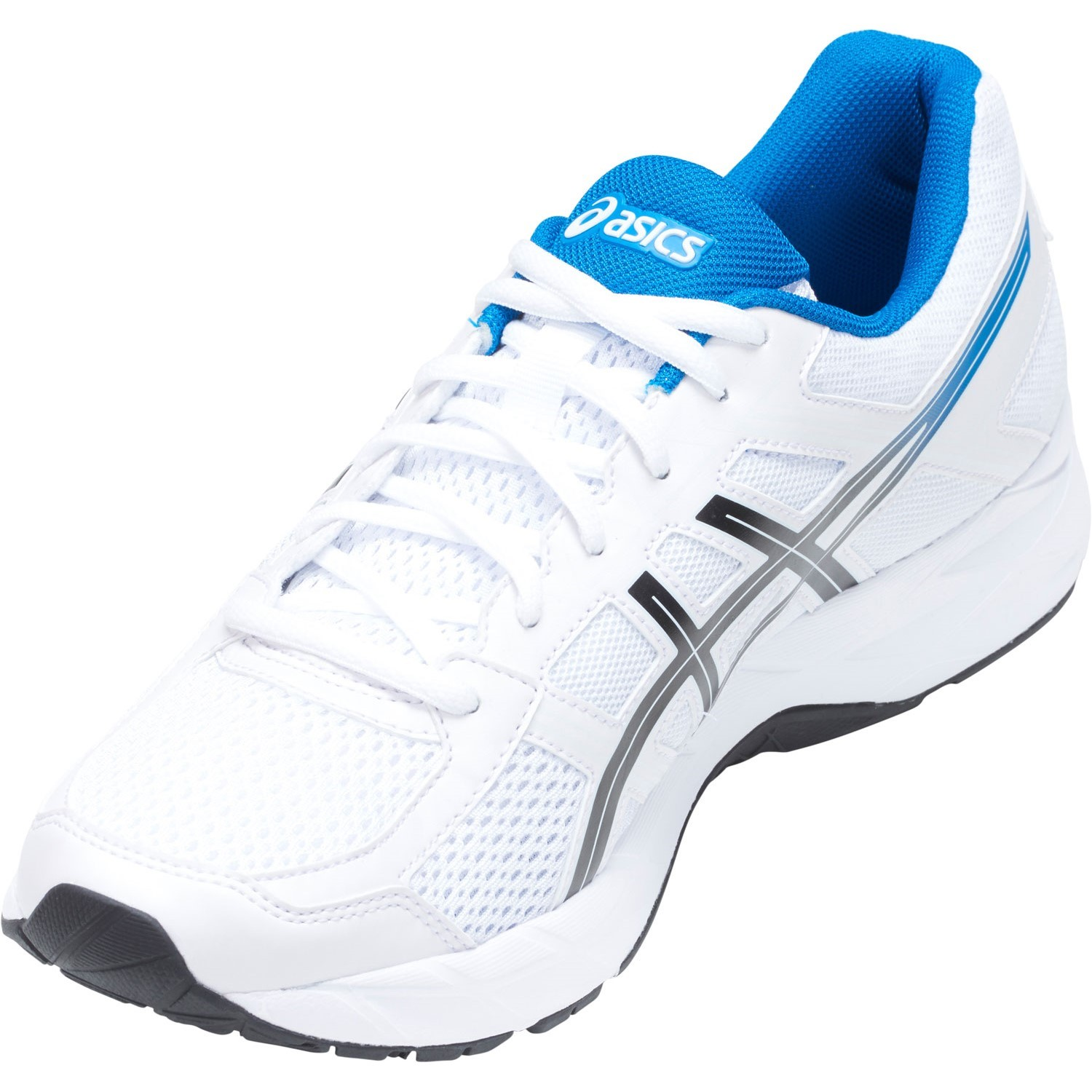 7961e97d9ec9 Asics Gel Contend 4 - Mens Running Shoes - White Race Blue