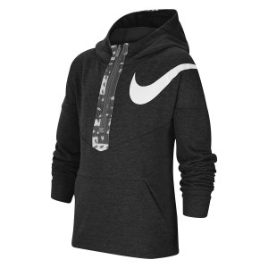 Nike Dri-Fit Graphic Half Zip Kids Training Hoodie