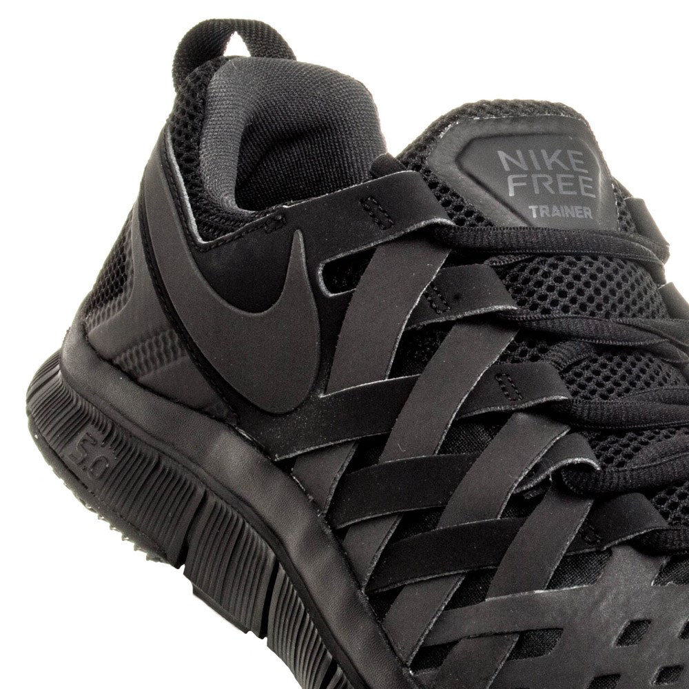 nike free trainer all black