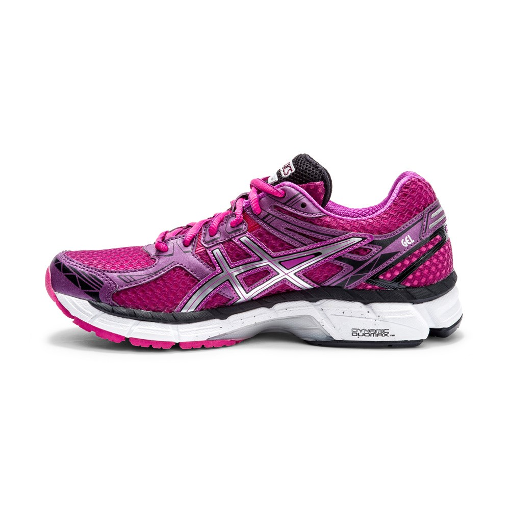 asics gt 2000 2 womens running shoes purple silver. Black Bedroom Furniture Sets. Home Design Ideas