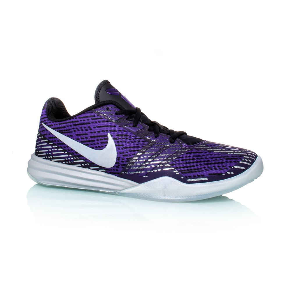 Nike Kobe Mentality - Mens Basketball Shoes - Court Purple/Metallic Silver/ Black