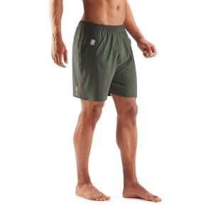 Skins Activewear Square 7 Inch Mens Running Shorts