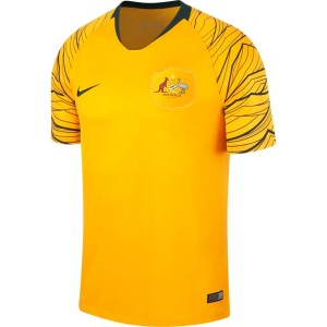 Nike Breathe Australian Home Stadium Mens Soccer Jersey