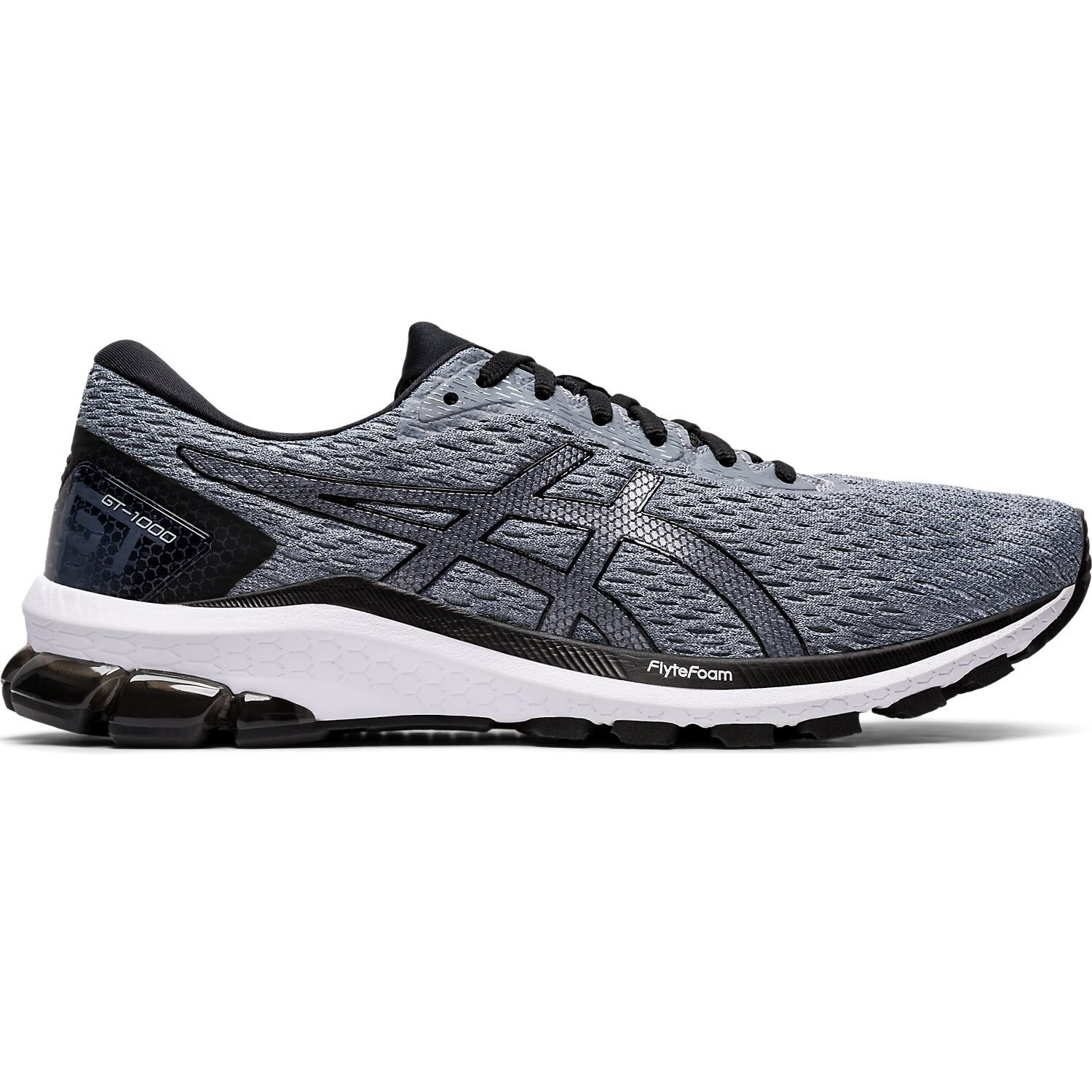 Asics Womens GT-1000 9 Running Shoes Trainers Sneakers Grey Sports Breathable