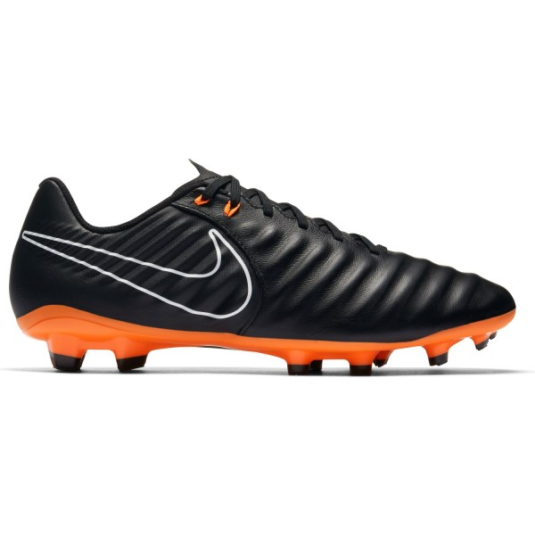 Nike Tiempo Legend VII Academy FG - Mens Football Boots - Black/White/Total Orange