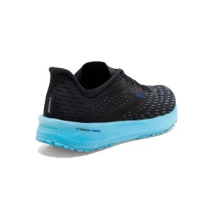 Brooks Hyperion Tempo - Womens Running Shoes - Black/Iced Aqua/Blue