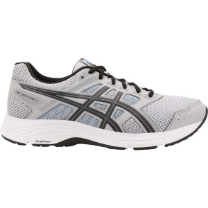 Asics Gel Contend 5 - Mens Running Shoes - Mid Grey/Black