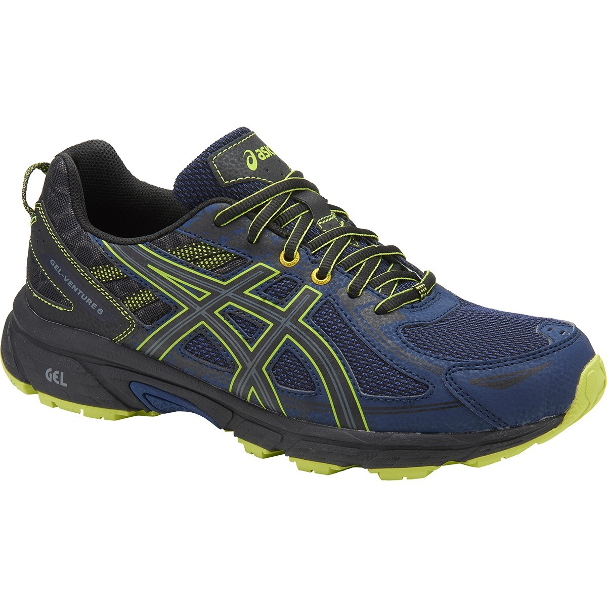 Asics Gel Venture 6 - Mens Trail Running Shoes - Indigo