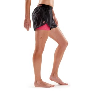Skins DNAmic Superpose Womens 2-in-1 Compression Shorts + Free Gym Bag