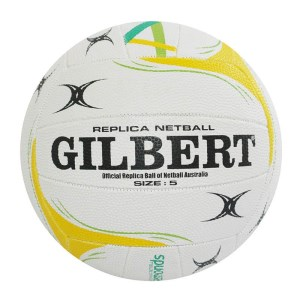 Gilbert Diamonds Replica Netball - Size 5